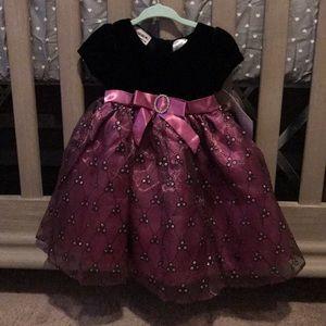 NWT blueberi boulevard baby girl dress size 12M